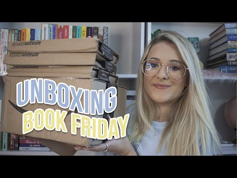 super UNBOXING da book friday | Promoções