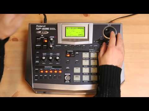 Roland sp-606 roland encyclotronic.