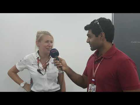 Williams TV at the Singapore Grand Prix