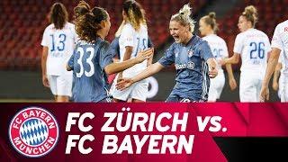 FC Zürich vs. FC Bayern | UEFA Women's Champions League 2018/19 - Matchday 3 | ReLive