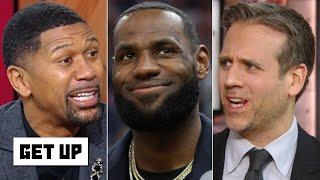 Jalen Rose and Max Kellerman debate LeBron vs. Giannis for NBA MVP | Get Up