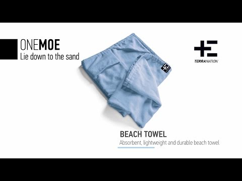 The perfect towel for beach holidays!