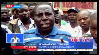 KTN Prime full bulletin part two: Nominations tensions and chaos - 18th April,2017