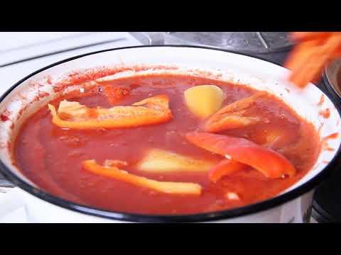 Болгарский перец  с помидорами на зиму уникальный рецепт