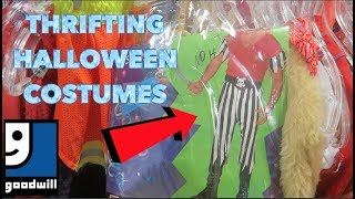 THRIFTING: HALLOWEEN COSTUMES 2019 MENS, WOMENS, KIDS!! COSTUMES FOR CHEAP!!!