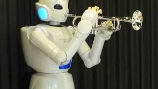 トヨタ・パートナーロボット【トランペット演奏】ルパン三世のテーマ