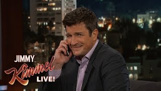 Nathan Fillion Calls Audience Member's Mom
