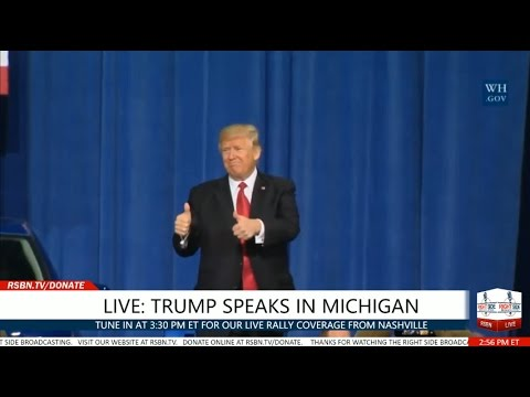FULL SPEECH: President Trump Speaks at the American Center for Mobility in Michigan 3/15/17