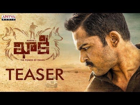 Khakee (The Power Of Police) Official Teaser || Khakee Telugu Movie || Karthi, RakulPreet || Ghibran