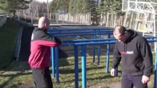 Erik Oganov - Fedor Emelyanenko - training 2010г