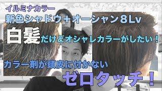 【イルミナカラー】白髪だけどオシャレカラー♪どこまで染まるか検証!姫路美容院