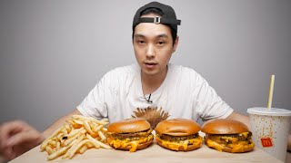 3 Triple Cheeseburgers At 3 AM