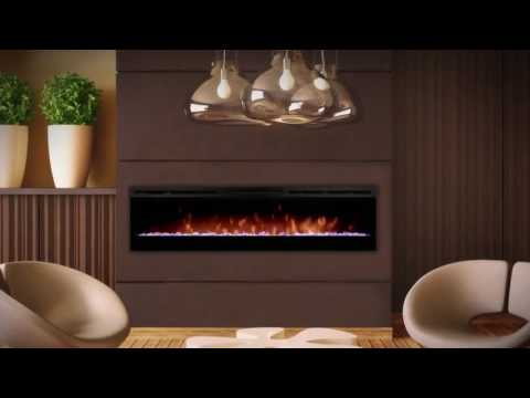 Электрокамин Dimplex Prism 74 LED wf Video #1