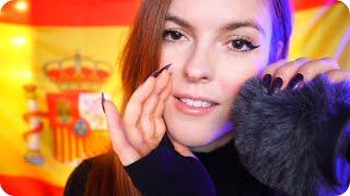 Spanish ASMR | Deep Ear Whispering and Fluffy Scalp Massage (ENG Sub) 🇪🇸