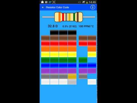 Video of Resistor Color Code