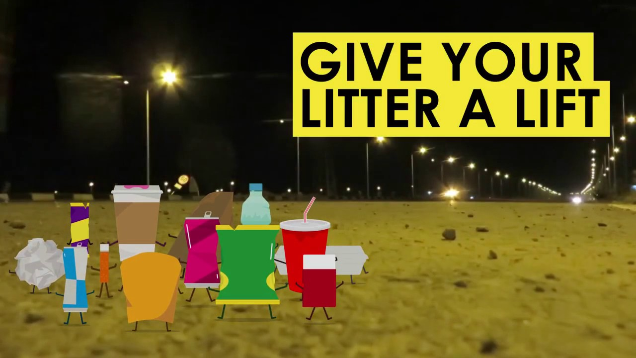 50 tonnes of litter is abandoned on Scottish roadsides each month!