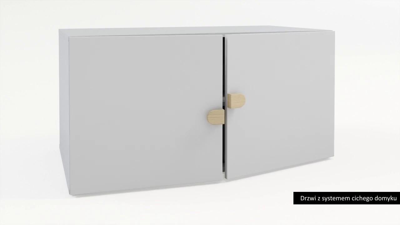 Stige Low Modular 2 Door Cabinet