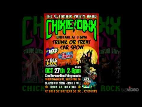 Chixie Dixx - Trunk Or Treat Car Show 10-27-2012