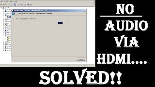 Fix HDMI No Sound in Windows 7,8,10 - SOLVED 2018 - GET Audio To TV