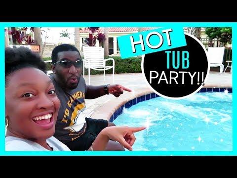HOT TUB PARTY! | BLACK FAMILY VLOGS