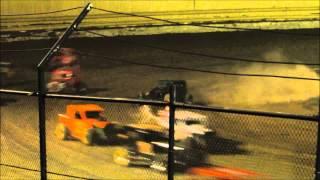 Creek County Speedway 8/30/14 Dwarf Main