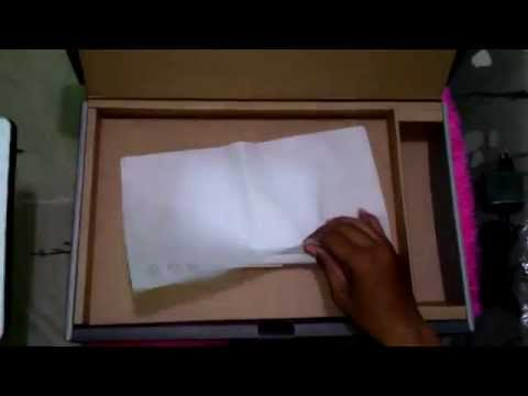 Asus x453 unboxing
