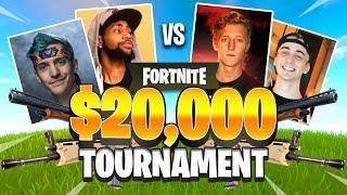 Ninja & Daequan VS Tfue & Cloak - FORTNITE FRIDAY $20,000 TOURNAMENT (Full Match All POV)