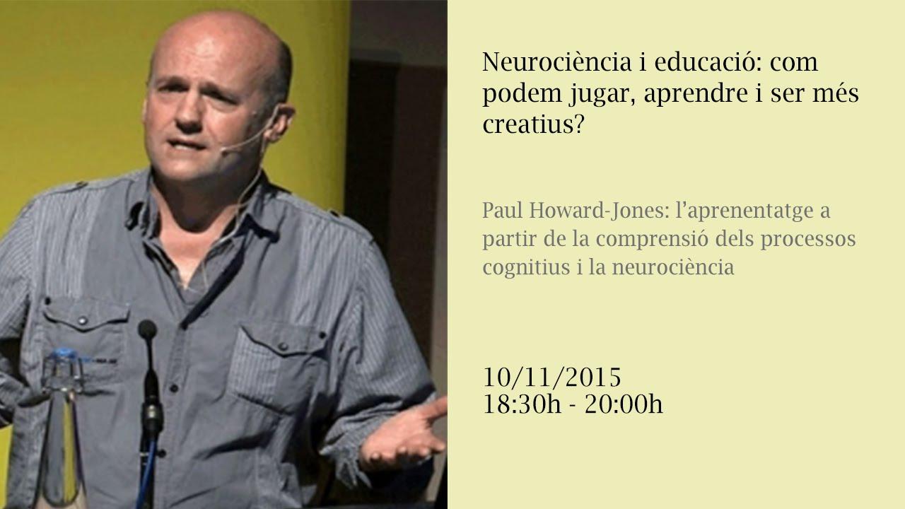 Neurociència i educació: com podem jugar, aprendre i ser més creatius? (retransmissió en directe)