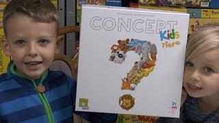 Concept Kids Tiere (Repos / asmodee) - ab 4 Jahre - das ist mal cool gemacht!
