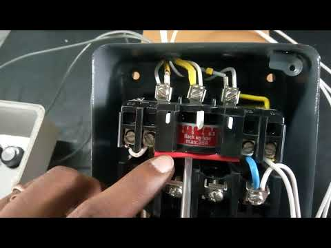 Air Break DOL Three Phase Motor Starter