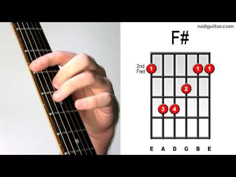 F# Major - How to Play Guitar Bar Chords