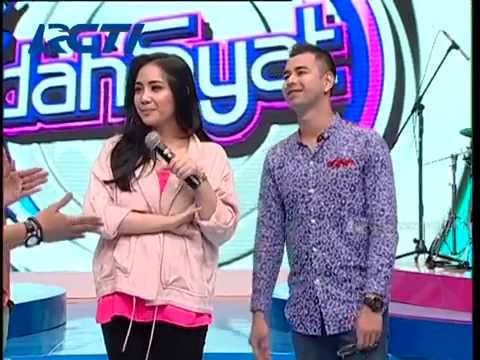 10 Hari Raffi Ahmad Mengejar Cinta Gigi (Nagita Slavina) - Dahsyat 07 Juni 2014