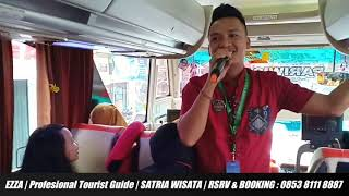 TOUR GUIDE LAMPUNG   SATRIA WISATA TOUR & TRANSPORT   0853 8111 8887