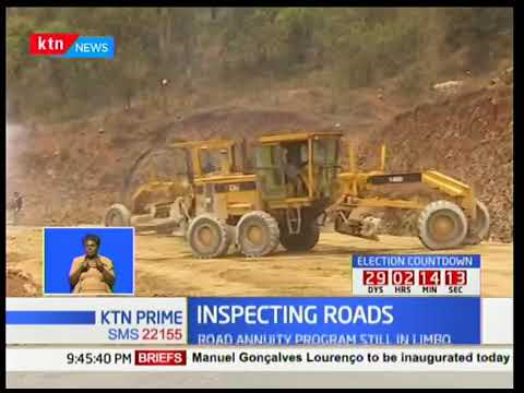Government embarks on a project dubbed road ten thousand project