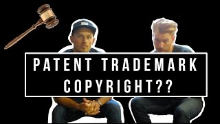 Should I copyright my logo? trademark? patent??