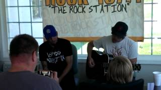 Red Line Chemistry - Rock 107.1 Office Invasion - Sucker Punch (Acoustic)