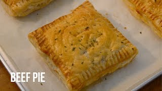 EASY BEEF PIE RECIPE (PUFF PASTRY PIE)