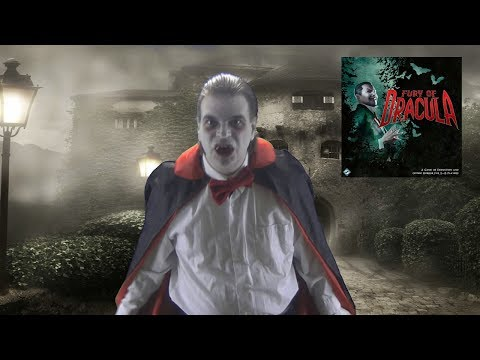 Fury of Dracula Board Game Review from the Count