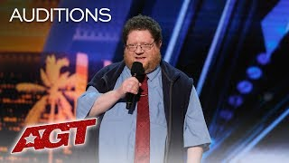 LOL!! The Best Puns From The King Of One Liners Kevin Schwartz - America's Got Talent 2019
