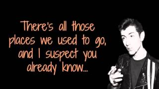 Arctic Monkeys - Fireside Lyric Video