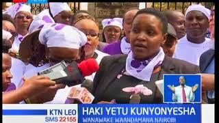 Wanawake waandamana Nairobi wakitaka haki za akina mama kunyonyesha watoto wao kudumishwa