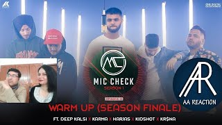 Pakistani react on Warm Up Song by Deep Kalsi, Karma, Harjas, Kidshot & Kr$na| AA reactions