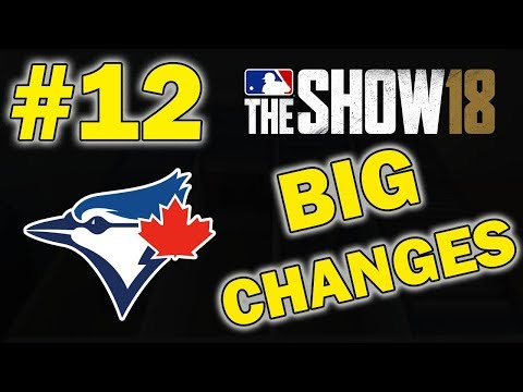 BIG OFFSEASON CHANGES | TORONTO BLUE JAYS FRANCHISE EPISODE 12 | MLB 18 THE SHOW