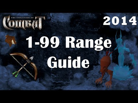 1 99 Ranged Guide Eoc Lv99 In 40 Hours Fastest Combat Training Runescape 3