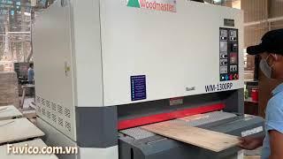 Chà Nhám Thùng Woodmaster Bàn Làm Việc Rộng 1300mm | WM-1300PR