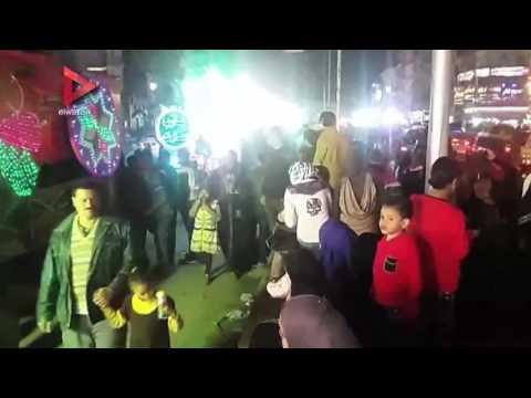 مسيرات واحتفالات الطرق الصوفية بالمحلة في المولد النبوي الشريف