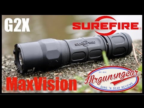 Surefire G2X MaxVision Flashlight Review