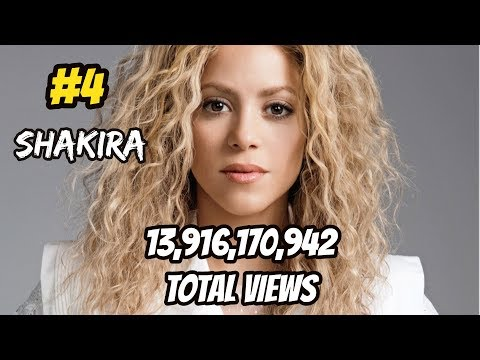 Top 10 Most Viewed Music Artists On Youtube (Most Views In Total)