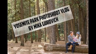 YOSEMITE PARK FAMILY PHOTOSHOOT BY MIKA GUROVICH