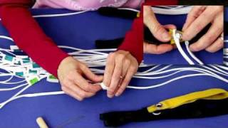 Attaching Toggles with a Finger Trapped Loop